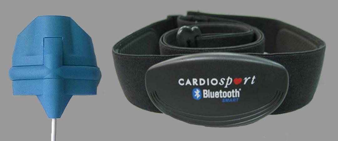ithlete finger sensor and chest monitors