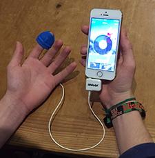 How to use ithlete finger sensor